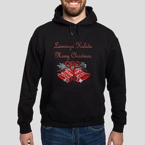 Lithuanian Christmas Hoodie (dark)