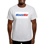 MinuteWar Ash Grey T-Shirt
