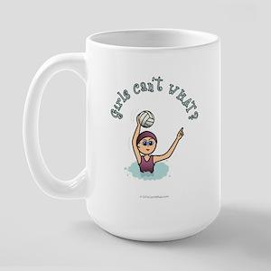 Light Water Polo Large Mug