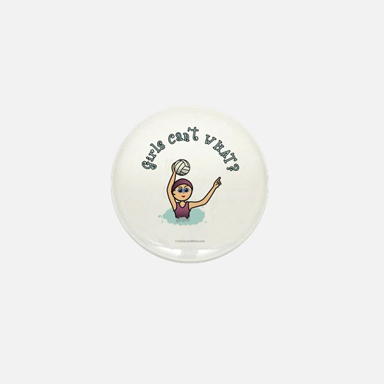 Light Water Polo Mini Button