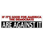 Democrats Bumper Sticker (50 pk)