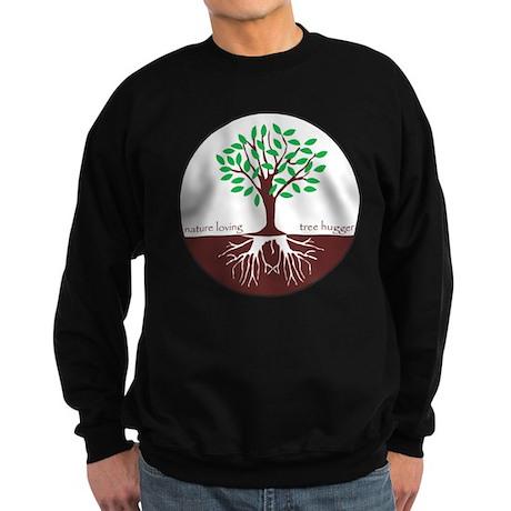Nature Loving Tree Hugger Sweatshirt (dark)
