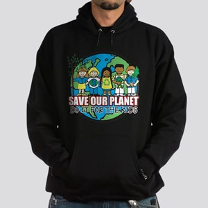 Save Our Planet Hoodie (dark)