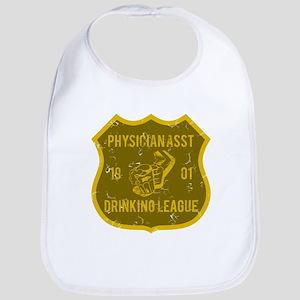 Physician Asst Drinking League Bib