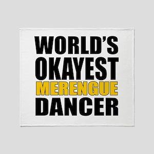 Worlds Okayest Merengue Throw Blanket