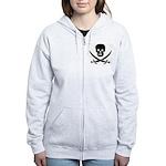 Pirate Fencer Women's Zip Hoodie