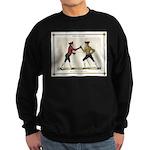 Fencing is the Art of Giving Sweatshirt (dark)