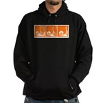 Orange Fencer's Thrust Hoodie (dark)