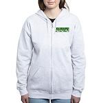 Green Thrust Women's Zip Hoodie