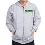 Green Thrust Zip Hoodie