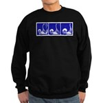 Blue Fencing Thrust Sweatshirt (dark)