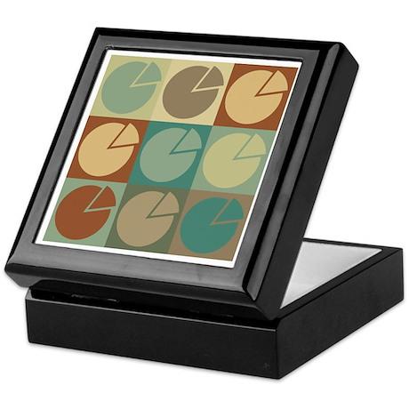 Economics Pop Art Keepsake Box