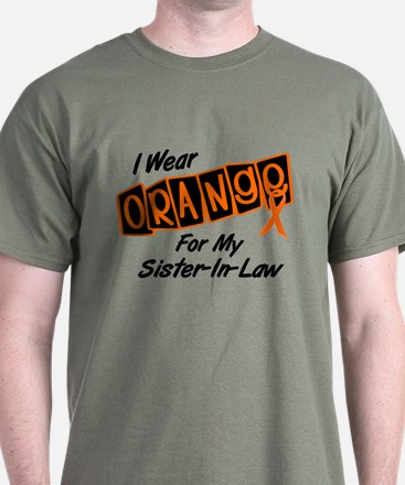 I Wear Orange For My Sister-In-Law 8 T-Shirt