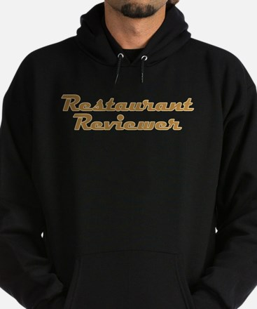 Restaurant Reviewer Hoodie (dark)