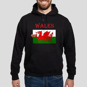 Wales Rugby Hoodie (dark)