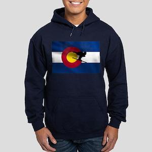 Colorado Skiing Hoodie (dark)