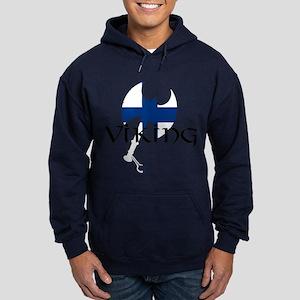 Finnish Viking Axe Hoodie (dark)