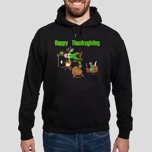 Funny Thanksgiving Hoodie (dark)