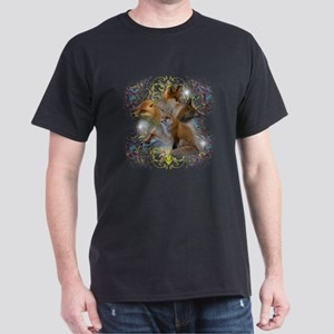 Foxes Dark T-Shirt