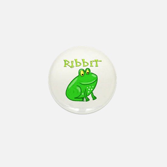 Ribbit Mini Button