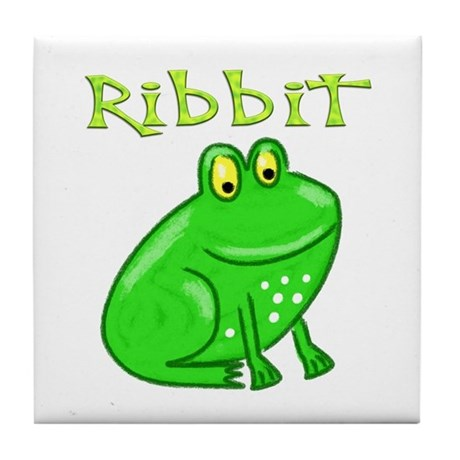 Ribbit Tile Coaster