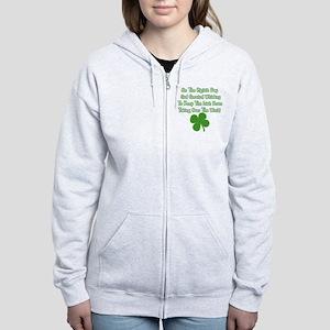 Irish Whiskey Women's Zip Hoodie