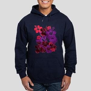 Hibiscus Hoodie (dark)