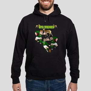 Springboks Rugby Team Hoodie (dark)