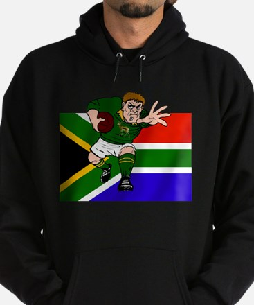 Rugby forward South Africa Hoodie (dark)