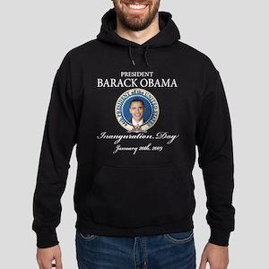 President Obama inauguration Hoodie (dark)