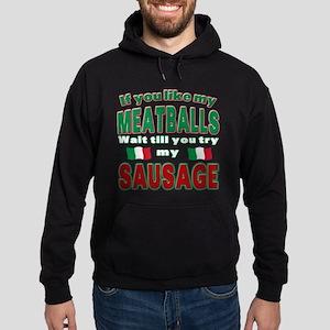 Italian Food Hoodie (dark)