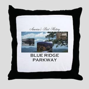 Blue Ridge Americasbesthistory.com Throw Pillow