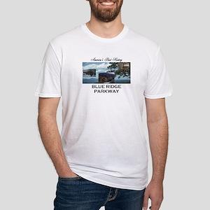 Blue Ridge Americasbesthistory.com Fitted T-Shirt