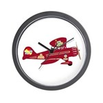 Sharehouse Plane Wall Clock