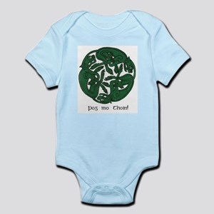 """Pog Mo Thoin Celtic Design"" Infant Creeper"