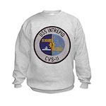 USS INTREPID Kids Sweatshirt
