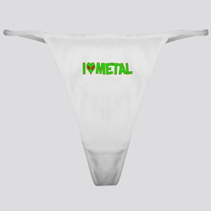 I Love-Alien Metal Classic Thong