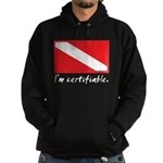 I'm certifiable Hoodie (dark)