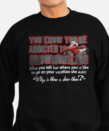YKYATS - Snowmobile Shows Sweatshirt (dark)
