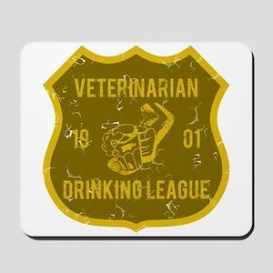 Veterinarian Drinking League Mousepad