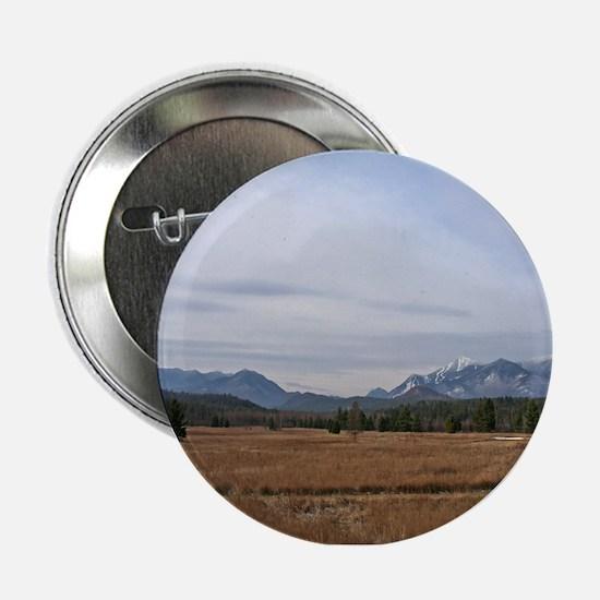"""Scenic Adirondack Landscape 2.25"""" Button"""