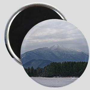 Scenic Adirondack Winter Magnet