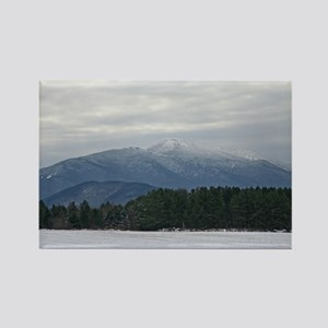 Scenic Adirondack Winter Rectangle Magnet