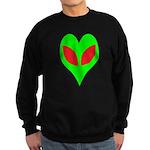 Alien Heart Sweatshirt (dark)