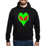 Alien Heart Hoodie (dark)
