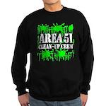 Area 51 Clean-Up Crew Sweatshirt (dark)