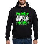 Area 51 Clean-Up Crew Hoodie (dark)
