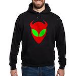 Evil Alien Hoodie (dark)