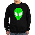 Alien Head Sweatshirt (dark)