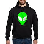 Alien Head Hoodie (dark)